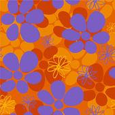 Seamless vector pattern, Wallpaper, Vector Background — Stock Vector