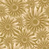 Nahtlose-Tapete mit floralen Schmuck für Vintage-Design, Vektor retro Hintergrund — Stockvektor