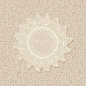 Vintage template Stylish circle background Wallpaper — Stock Vector