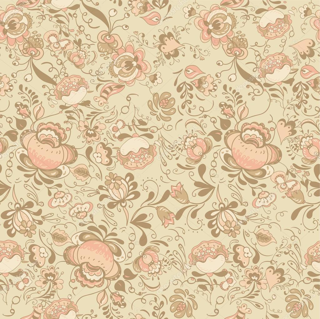 latest floral seamless pattern endless texture with