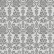 Seamless vintage background, baroque pattern — Stockvektor