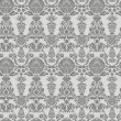 Seamless vintage background, baroque pattern — Imagen vectorial