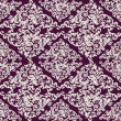 Seamless vintage background, baroque pattern — Stock vektor