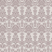 Seamless vintage background, baroque pattern — Stock Vector