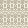 Seamless vintage background Vector background for textile design. Wallpaper, background, baroque pattern — Imagens vectoriais em stock