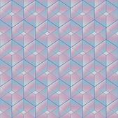 Papel de parede cor brilhante fundo geométrico sem costura mosaico padrão infinito cubo de — Vetorial Stock