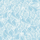 Seamless floral pattern Classic wallpaper background — Vector de stock