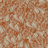 Seamless floral pattern Classic wallpaper background — Stock Vector