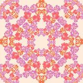 Vintage inconsútil. patrón de papel tapiz. vector — Vector de stock