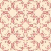 Floral vintage seamless pattern for retro wallpapers — Stok Vektör