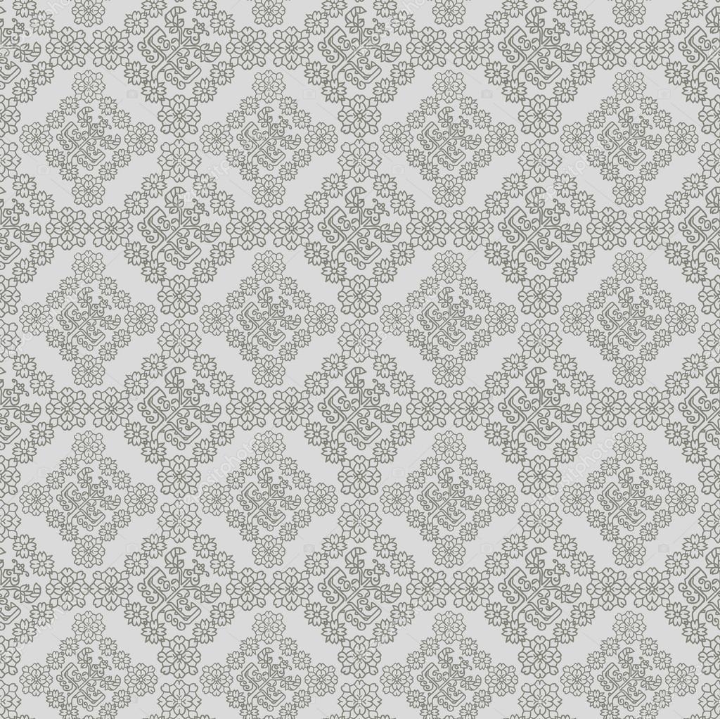 seamless vintage background vector background for textile design wallpaper background baroque. Black Bedroom Furniture Sets. Home Design Ideas
