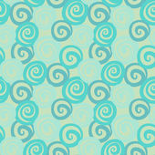 Vintage abstract seamless pattern with curl — Vector de stock