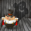 Halloween design background. — Imagen vectorial