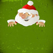 Santa Claus with place for your text — Stock Vector