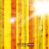 Abstract Striped Background With Sunburst Flare — Stock Vector