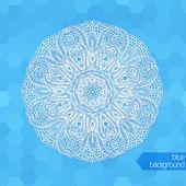 Snowflakes background — Stok Vektör