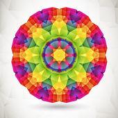 Plano de fundo colorido mosaico — Vetorial Stock