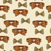 Seamless vintage hipster background — Stockvektor