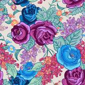 Sorunsuz geçmiş ile kır çiçekleri buketi. — Stok Vektör