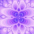 Stock Photo: Fractal grace - pastel overflow.
