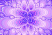 Fractal grace - pastel overflow. — Stock Photo