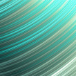 Shiny metallic lines background - inverse diagonal arcs, aquamarine. — Stock Photo
