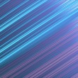 Shiny metallic lines background - diagonal, deep sky blue and heliotrope. — Stock Photo