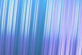 Shiny metallic lines background - vertical with tilt, bondi blue and wisteria. — Stock Photo