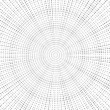 Grayscale grace. radial pattern background. — Stock Photo
