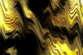 Magical curls background - golden flames. — Stock Photo