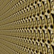 Abstract background - pattern in perspective. patterned textured wall. — Stock Photo #32237455