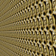 Abstract background - pattern in perspective. patterned textured wall. — Stock fotografie