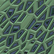 Stock Photo: Abstract textured background - fancy polyhedrons 11.