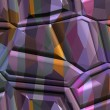 Abstract textured background - fancy polyhedrons 13. — Stock Photo