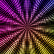 Color radial pattern background - multicolor. — Stock Photo