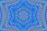 Radial halftone mosaic pattern 1. — Foto de Stock