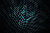 Bending highlighted mesh pattern I. Abstract background. — Stock Photo