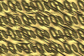 Patterned metal abstract background. — Stock Photo