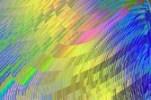 Move magic tracks - glassy rainbow. — Stock Photo
