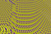 Move magic tracks - yellow and purple interlacing. — Stock Photo