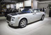 Rolls Royce Phantom Coupe white — Stock Photo