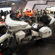 Victory motorcycle white side view — Stock Photo #26117769