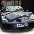 Stock Photo: Porsche 918 Spyder front view