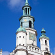 Stock Photo: Town hall in Poznan