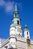 Town hall in Poznan — Stock Photo