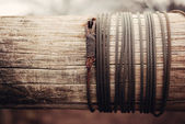 Steel wire — Stock Photo