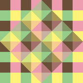 Vector background of geometric squares — Vecteur