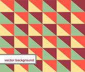 Patrón de vector de formas geométricas — Vector de stock