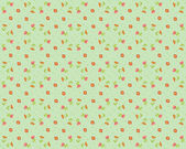 Vector floral background, pattern — Stock Vector