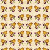Iris vector adorno flor — Vector de stock